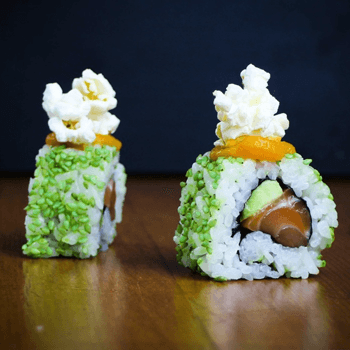 Celebration sushi roll recipe