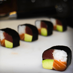 Four seasons sushi roll recipe