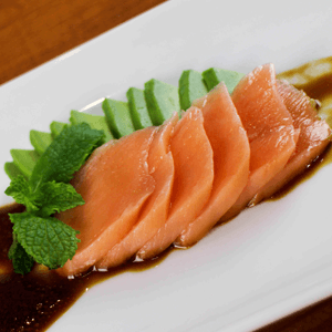 Cooked Salmon Sashimi Recipe