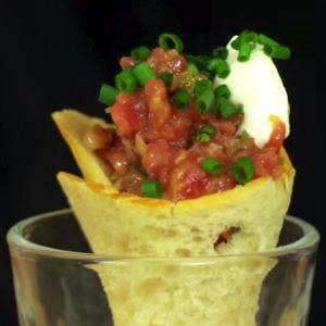 Steak Tartare Cornetto