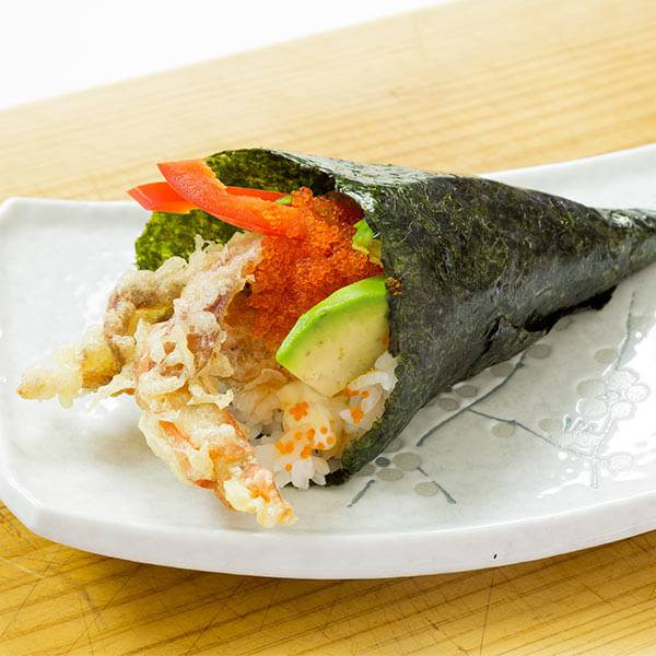 Soft Shell Crab Temaki Sushi Recipe