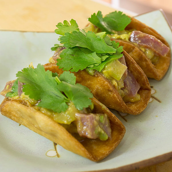 Tuna Ceviche Taco Recipe
